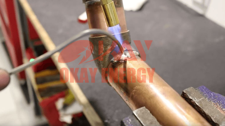 How To Use Oxyhydrogen Gas Welding For Copper Tube Welding